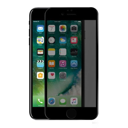 buy online 49db7 4b917 iPhone 8 Plus / 7 Plus Privacy Tempered Glass Screen Protector ...