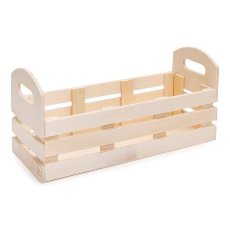 Wood Pallet Long Container 10.5in](Craft Wood)