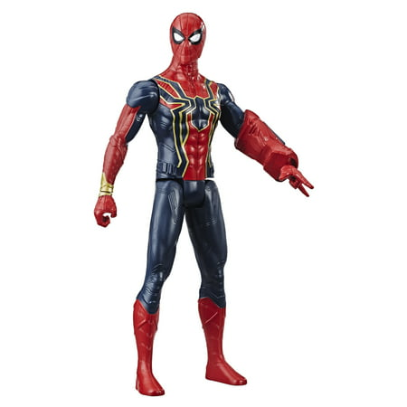 Marvel Avengers Titan Hero Series Iron Spider 12-Inch-Scale (Series Iron Spider)