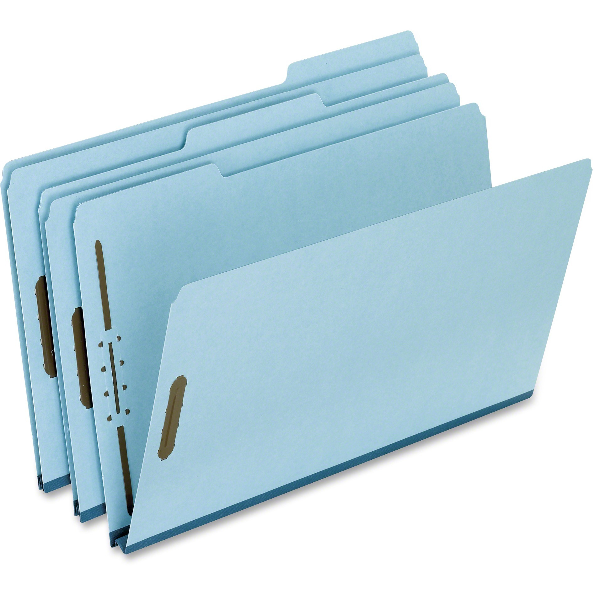 Pendaflex, PFXFP313, Pressboard Expansion Fastener Folders, 25 / Box, Blue