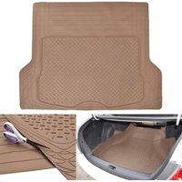 "Motor Trend Premium Odorless Heavy-Duty Trimmable Thick Rubber Cargo Floor Mat Liner, 43.2"" x 53.7"""