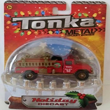 Tonka Metal Body Holiday Diecast Fire Department