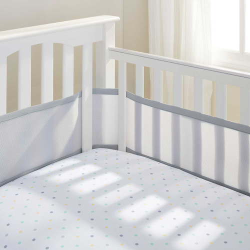 BreathableBaby Mesh Crib Bumper Liner