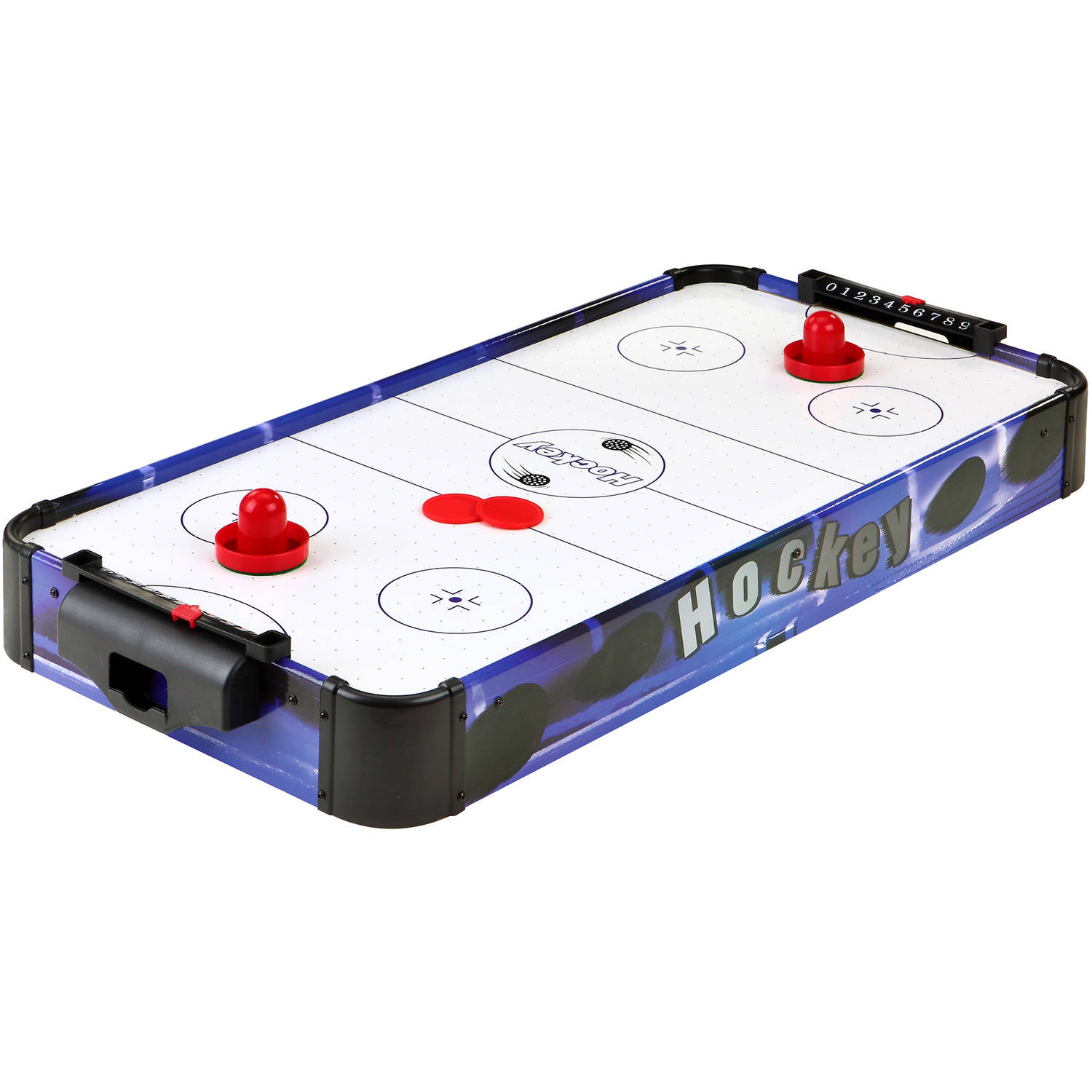 "Hathaway Blue Line 32"" Portable Table Top Air Hockey"
