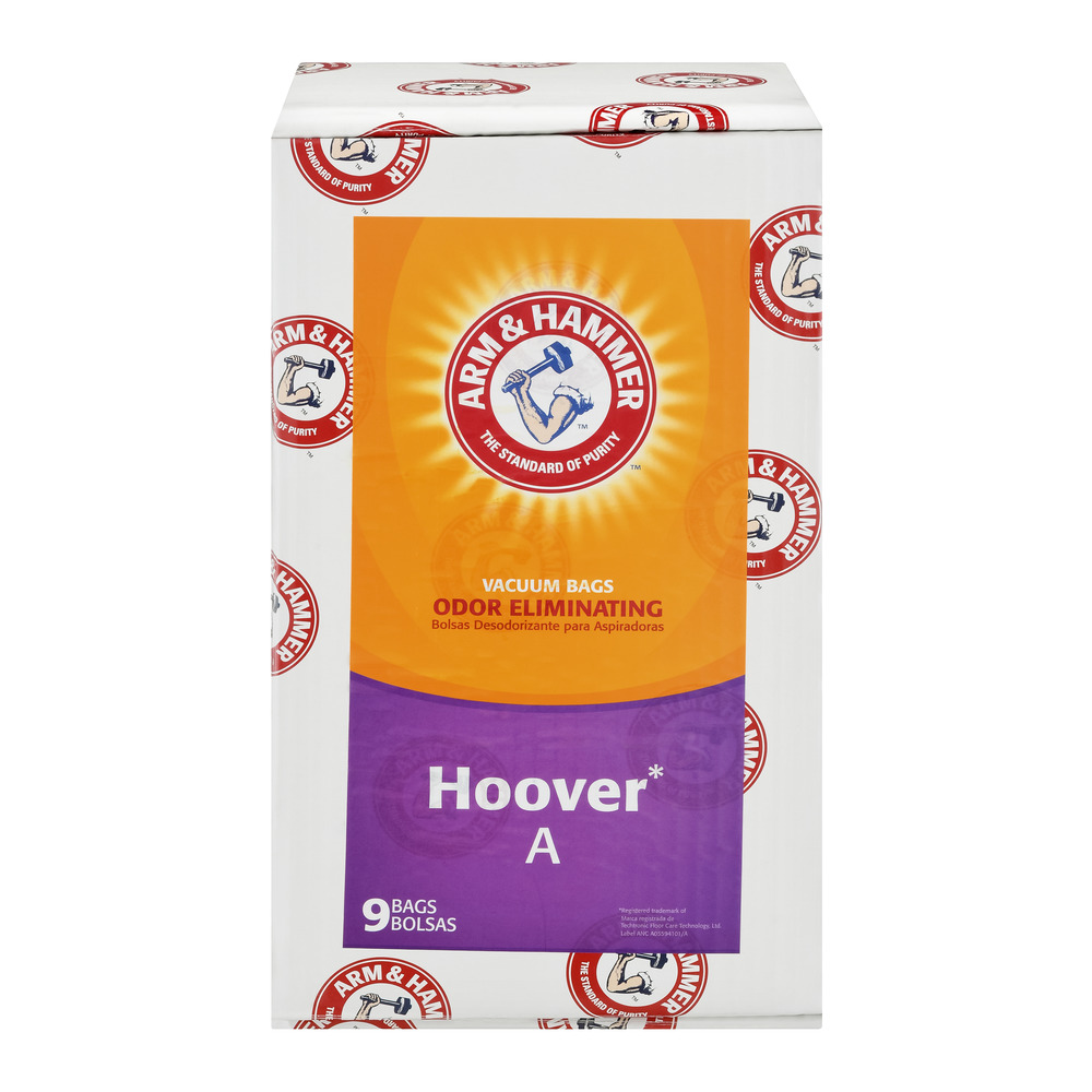 A&H Hoover Type A Standard Bag - 9 Pack