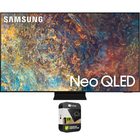 Samsung QN50QN90AA 50 Inch Neo QLED 4K Smart TV (2021) Bundle with Premium Extended Warranty