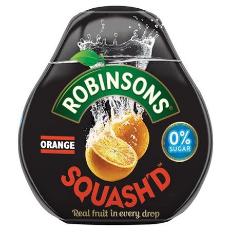 Robinsons Squash'd Orange No Added Sugar - 66ml (2.23fl oz) Orange No Sugar