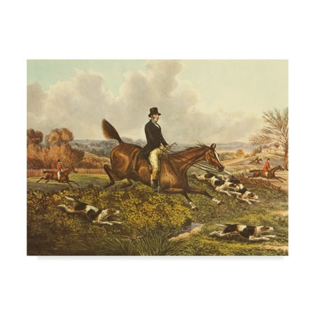 Trademark Fine Art 'The English Hunt VII' Canvas Art by Henry Alken ()
