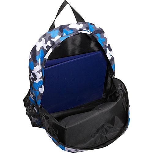 Blue Camo Crackerjack Backpack