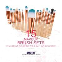 12 Colors Diamond Glitter Eyeshadow Palette With 15 Pcs Makepup Brush Set Beauty Makeup