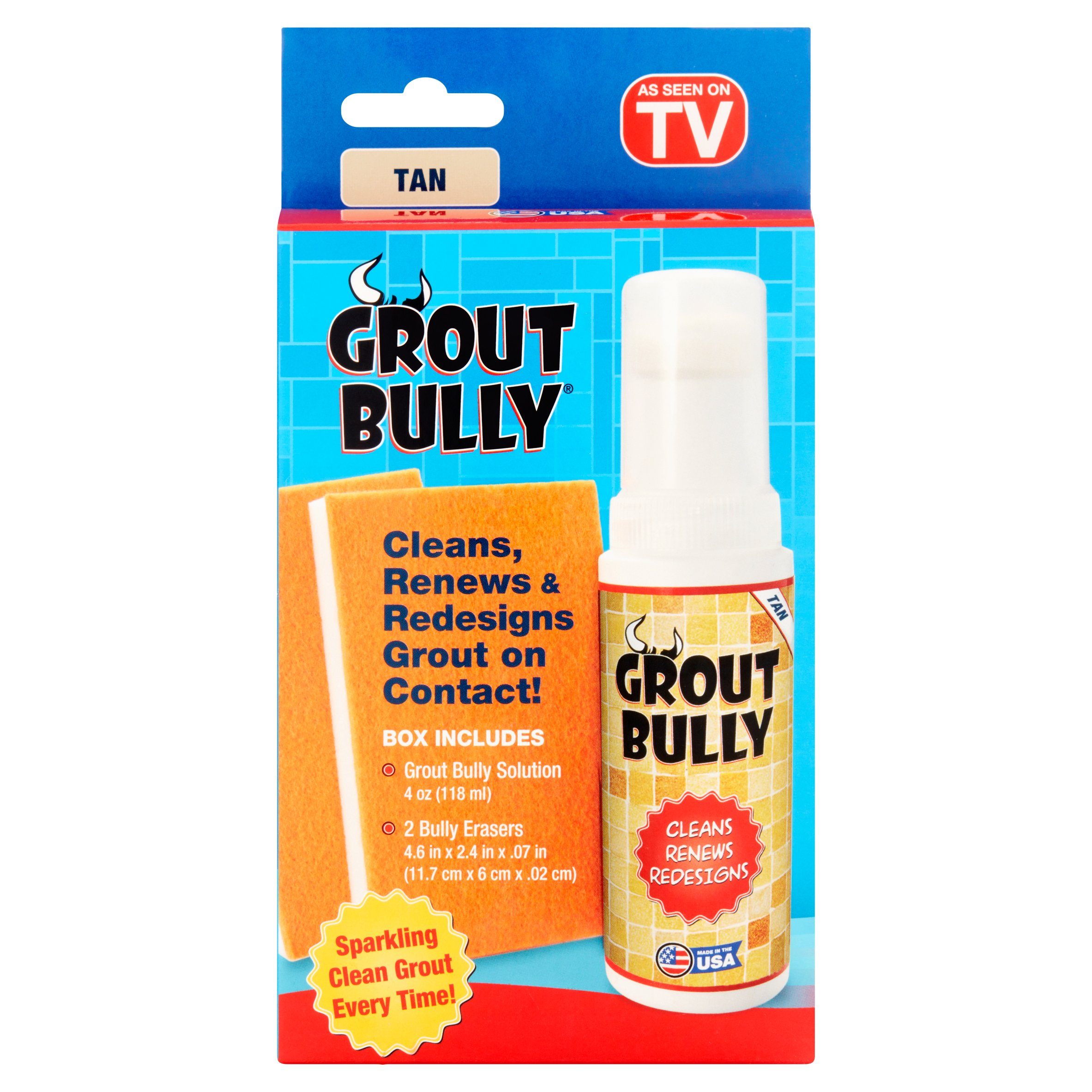 Grout Bully Tan Tile Cleaner