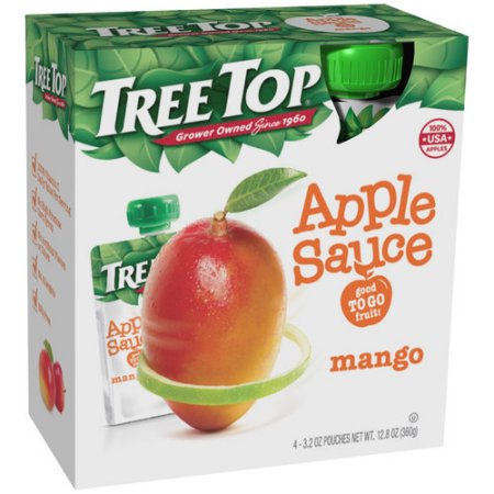 Tree Top Mango Apple Sauce (Pack of 12) Apple Mango Sauce