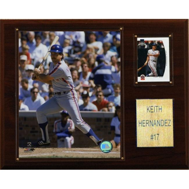 C & I Collectables 1215KHERN MLB Keith Hernandez New York Mets Player Plaque