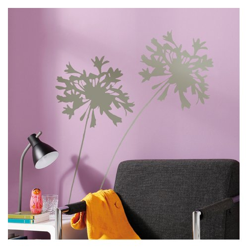 Brewster Home Fashions Euro Living Silhouette Wall Decal