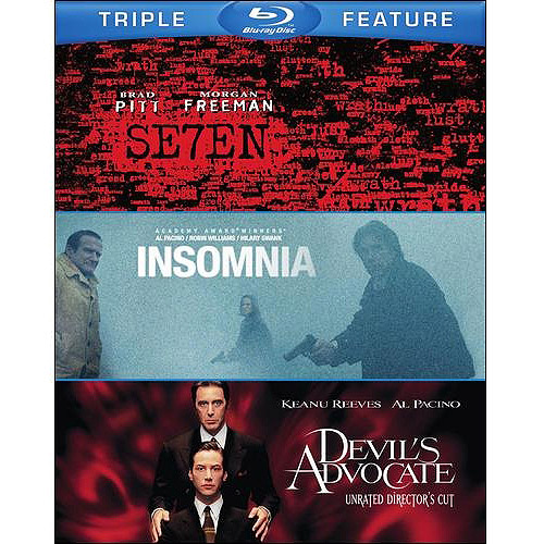 Seven / The Devil's Advocate / Insomnia (Blu-ray) (Widescreen)