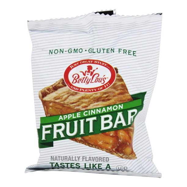 Betty Lous - Gluten-Free Fruit Bar Snack - Apple Cinnamon ...