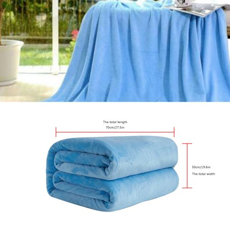 Rinhoo Flannel Blanket Carpet Air Conditioning Quilt Office Napping Blanket