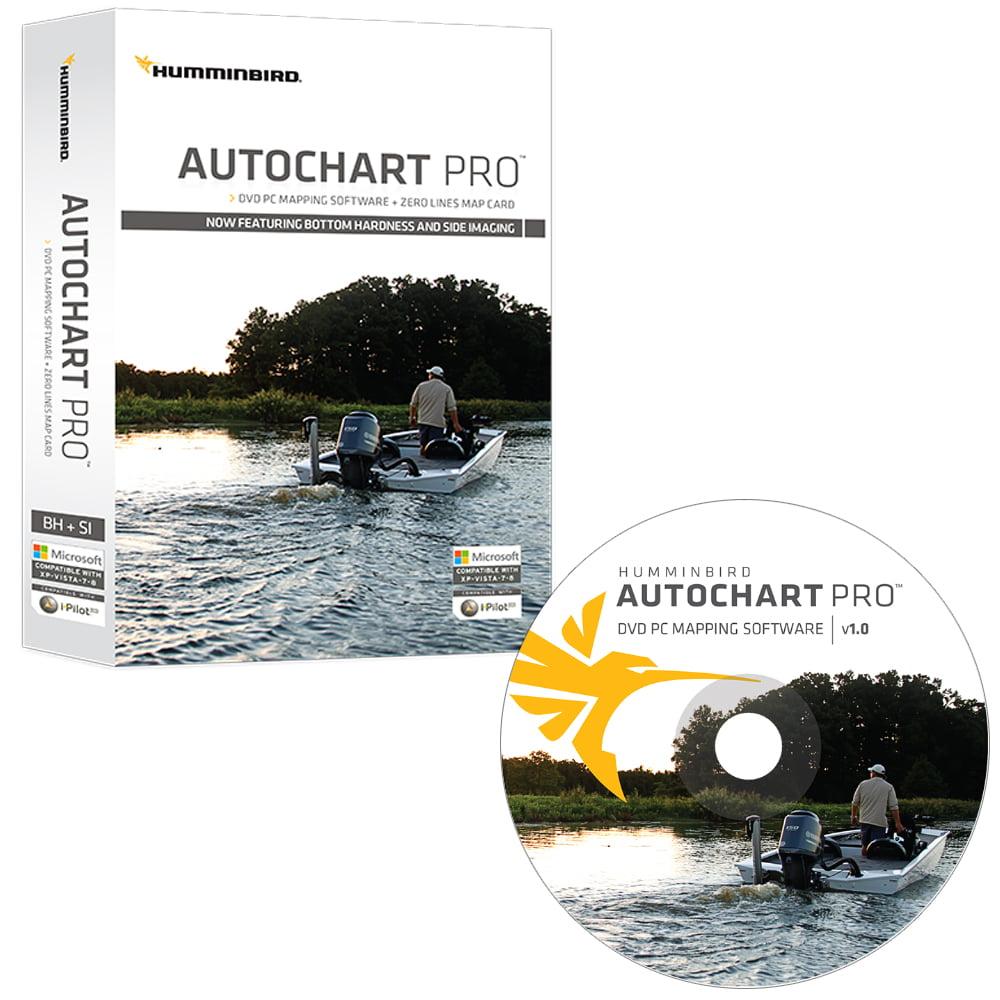 Humminbird Electronic Chart AutoChart Pro