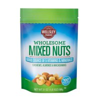 Product of Wellsley Farms Wholesome Mixed Nuts, 21 oz.