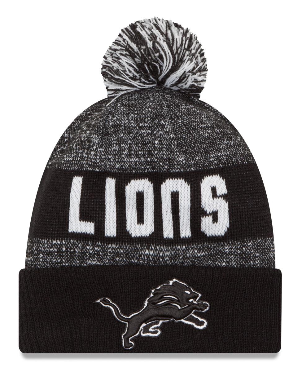 513274b5ff3 0301c 5d035  clearance detroit lions new era 2016 nfl sideline sport knit  hat black white walmart 9f1c1 59f6d