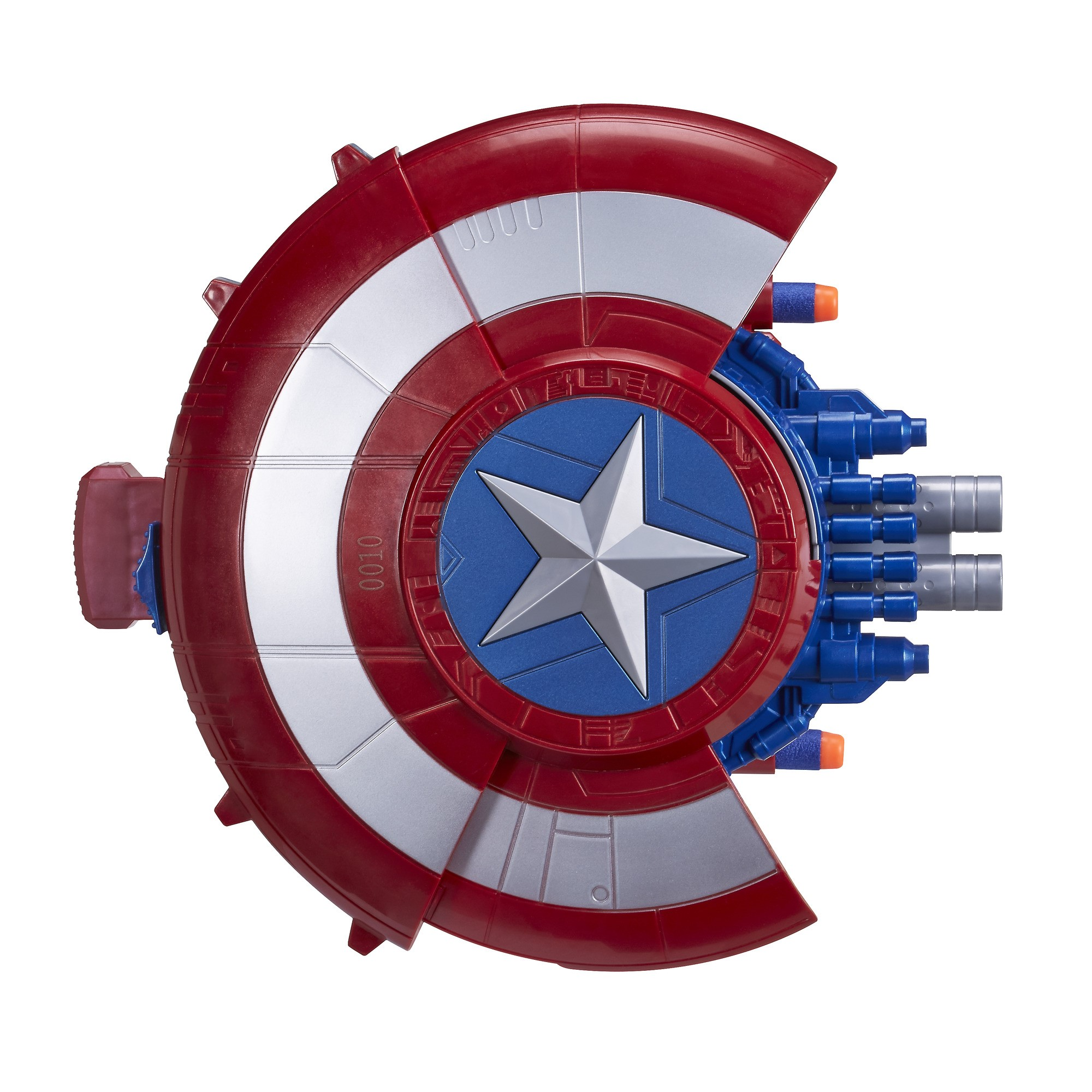 Marvel captain america blaster reveal shield