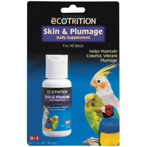 Ecotrition Skin and Plumage Daily Supplement 1 Ounce