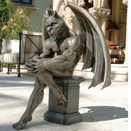 Design Toscano Socrates The Gargoyle Thinker - Halloween Gargoyle Statues