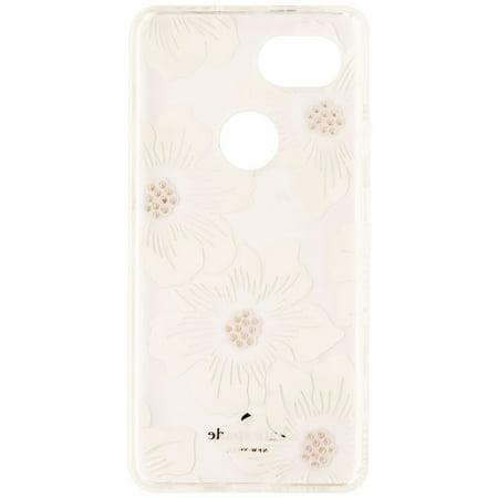 Kate Spade New York Hardshell Case for Google Pixel 2 XL - Clear/White Flowers - image 1 de 3