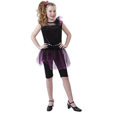 80's Star Halloween Costume Medium, Girl's size: Medium (8-9) By Totally Ghoul From (Inflatable Costumes From The 80's)