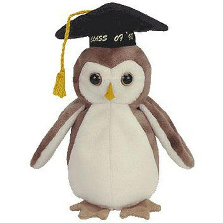 TY Beanie Baby - WISE the 1998 Owl (7.5 inch)](Beanie Baby Halloween Owl)
