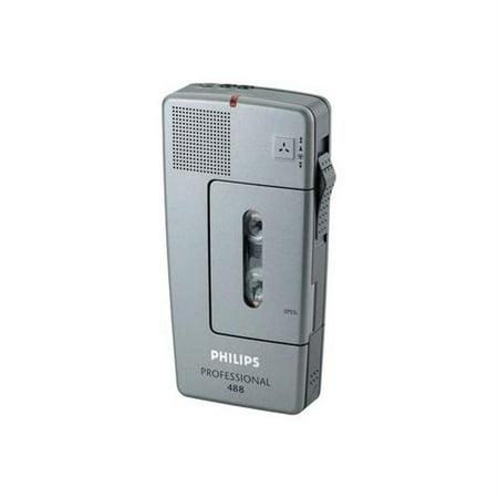 Philips LFH488 Pocket Memo Mini Cassette Recorder by