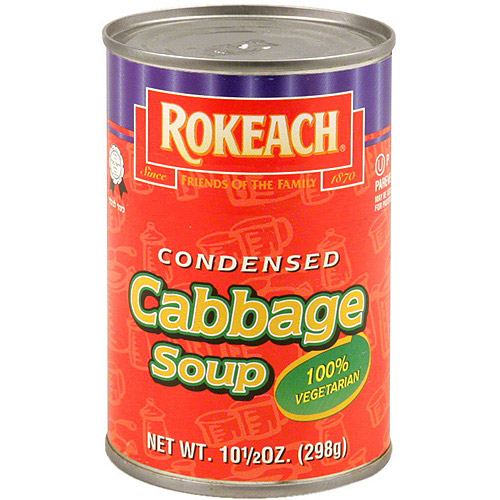 Rokeach Cabbage Soup, 10.5 oz (Pack of 12)