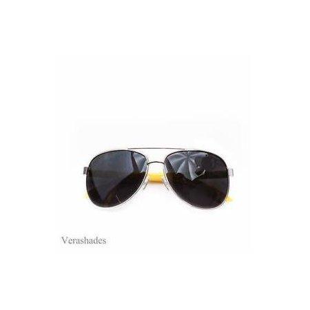 NEW Classic Retro Mens Fashion PILOTs Vintage Designer Sunglasses Black Gold h Classic Vintage Gold Leaf
