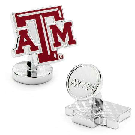 Men's Cufflinks Inc Palladium Texas A & M Aggies Cufflinks