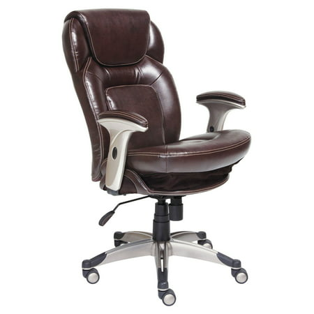 Serta Back In Motion Health And Wellness Mid Bonded Leather Office Chair Frye