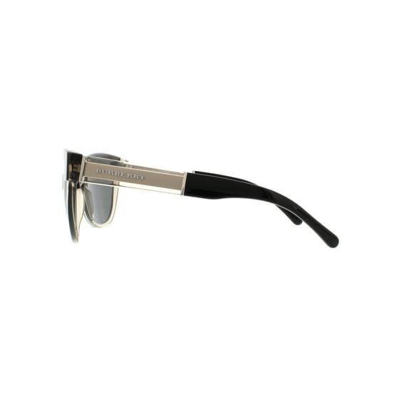 872303ed6ab3 Burberry - BURBERRY Sunglasses BE 4206 355887 Top Black On Grey 55MM -  Walmart.com