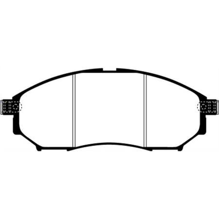 EBC 08-13 Infiniti EX35 3.5 Greenstuff Front Brake Pads