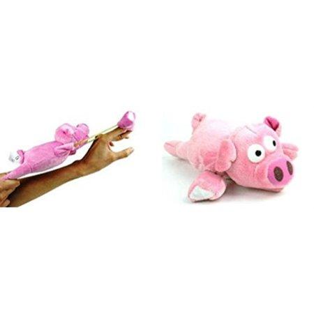 Flying Pig Toy (Playmaker Toys Flingshot Flying Pig,)