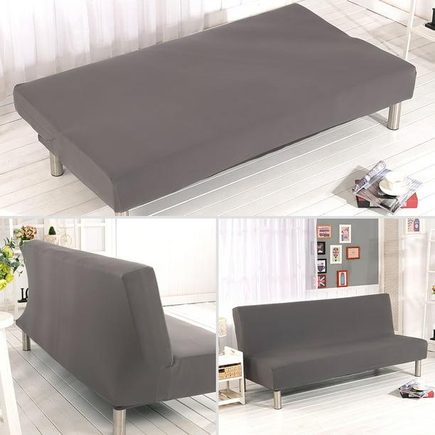 Armless Sofa Covers Stretch Fabric