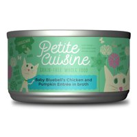 (24 Pack) Petite Cuisine Baby Bluebell's Chicken & Pumpkin Wet Cat Food, 2.8 oz. cans