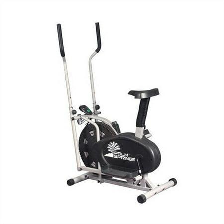 Palm Springs Fitness Dual Elliptical Cross Trainer & Exercise Bike
