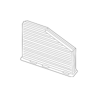 Genuine OE Audi Cabin Air Filter 1K1-819-653-B