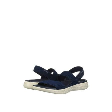 Skechers On the Go 600 - Flawless Women's Casual Slingback Sandals 15312 (Skecher Go Walk Sandals For Women)