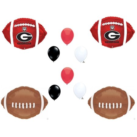 Georgia Bulldog Game (GEORGIA BULLDOGS Football Game Day Birthday Party Balloons Decorations Supplies College)