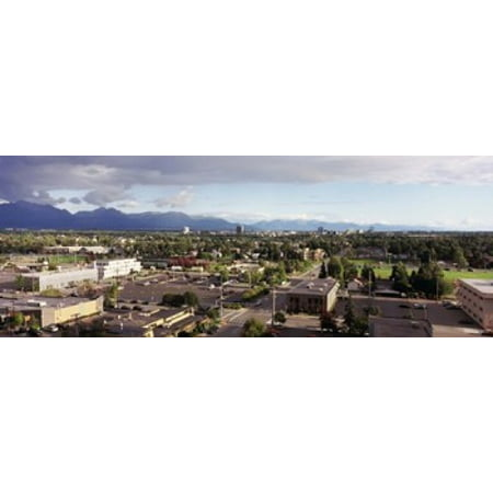 Buildings in a city Anchorage Alaska USA Canvas Art - Panoramic Images (15 x 6)](Party City Anchorage)