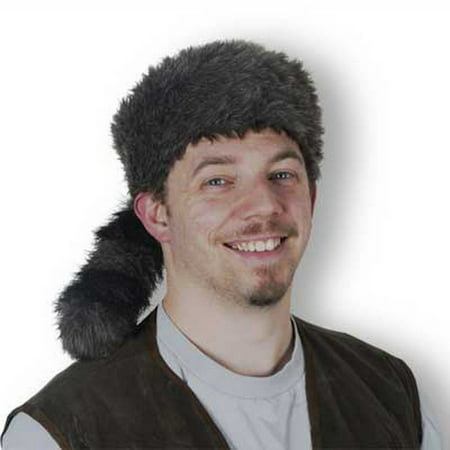 Beistle 60264 Coonskin Cap - Pack of 6 - Coonskin Caps