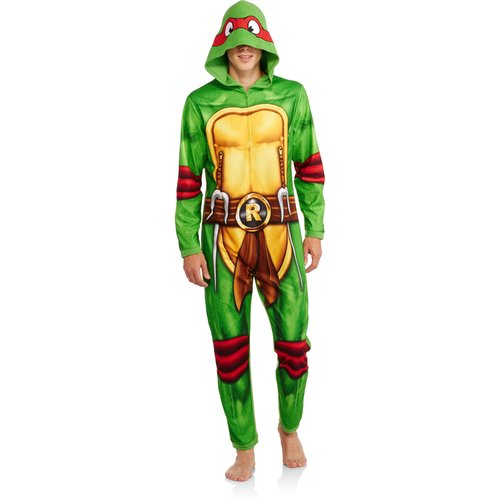 TMNT Men's Onesie Raphael Union Suit