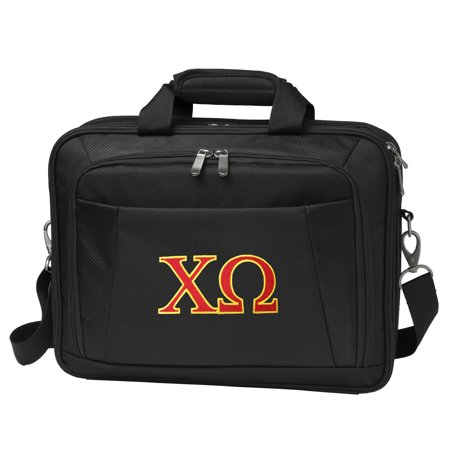 Official Chi O Sorority Laptop Bag Deluxe Omega Computer Bags