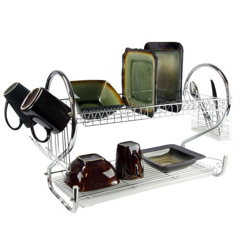 Mega Chef 2 Shelf Dish Rack