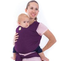 Baby Wrap Carrier All-in-1 Stretchy Baby Wraps - Baby Carrier - Infant Carrier - Baby Wrap - Hands Free Babies Carrier Wraps - Baby Shower Gift - One Size Fits All